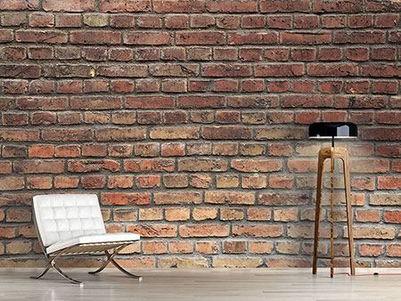 Wandbespannung Brick Wall